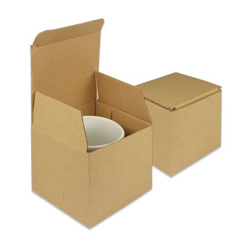 Geschenkkarton für Tassen, braun